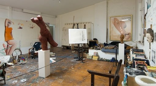 The Brett Whiteley Studio at 2 Raper Street, Surry Hills, was the workplace and home of Australian artist Brett Whiteley (1939–1992).    Now a gallery and studio museum managed by the Art Gallery of NSW.