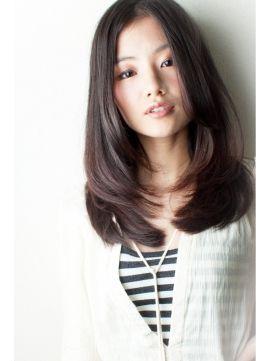 『大人度アップ』ナチュラルストレート☆ - ヘアスタイル・髪型・ヘアカタログ [キレイスタイル]