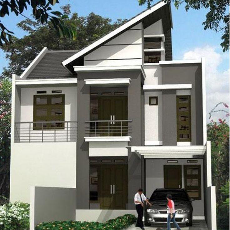 Wow ! Ini Dia Model Rumah Minimalis 2 Lantai Paling Keren ...