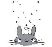 Totoro and soot sprites