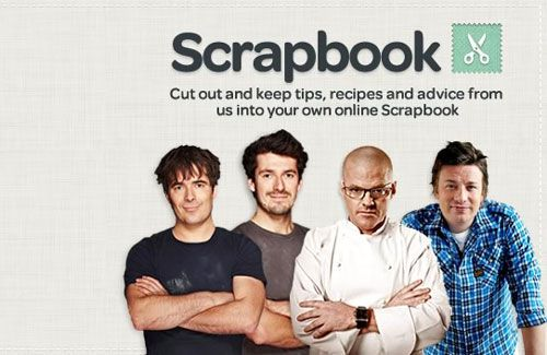 scrapbook // Channel 4 Food