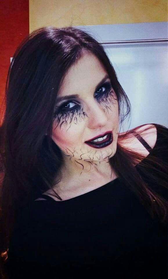 Halloween makeup Cristina Camarzan makeup artist