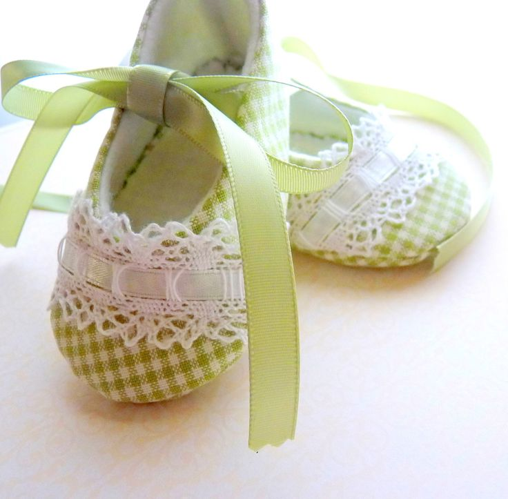 sweet little baby shoes