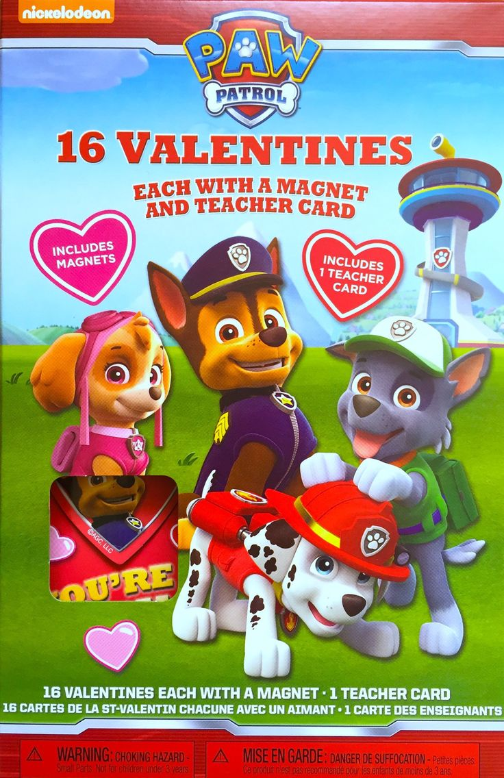 Paw Patrol Valentine Cards If you are living with a kid that loves Paw Patrol you need one of the cool Paw Patrol Valentine cards available!! These are very popular for both boys and girls aged from 3-6! I know because I hear my 3 year old nephew talking about Rocky non stop and my …