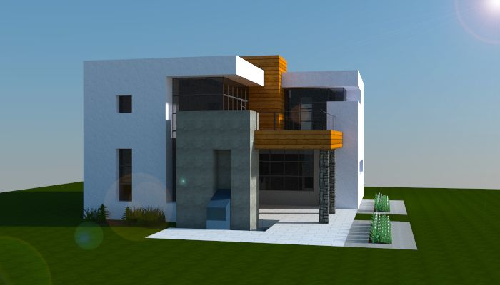 Simple Home Modern House Designs Pictures Very Simple: Simple Modern House