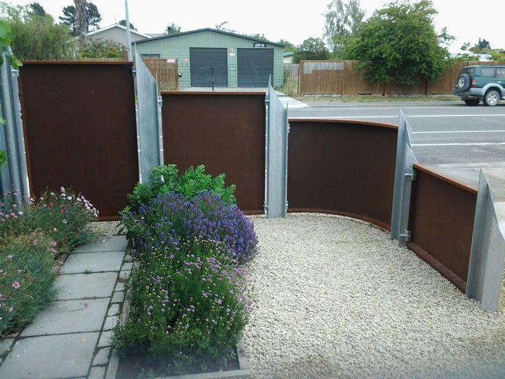 My Corten Garden Fence 3