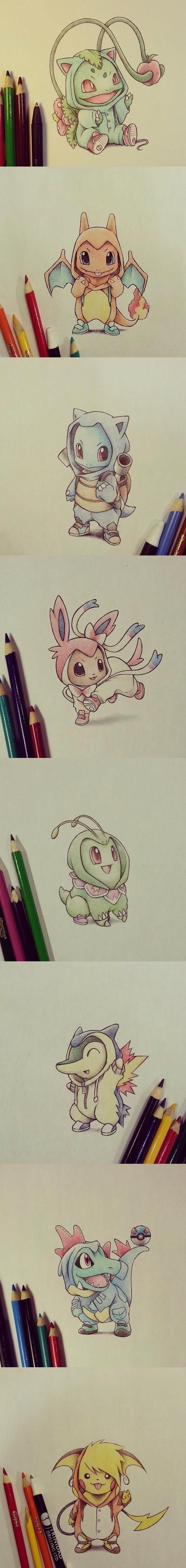 Pokémon Cosplaying as their final evolutions!