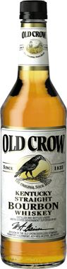 """Old Crow Bourbon - Beam Global - Tim is a fan, I like the legacy label and the edginess of the """"Old Crow""""! Frequently have it on-hand ..."""