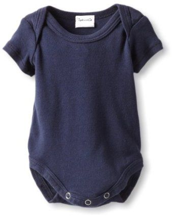 Splendid Littles Unisex-Baby Newborn Always Solid Onesie, Navy, 6-12 Months Splendid. $32.00
