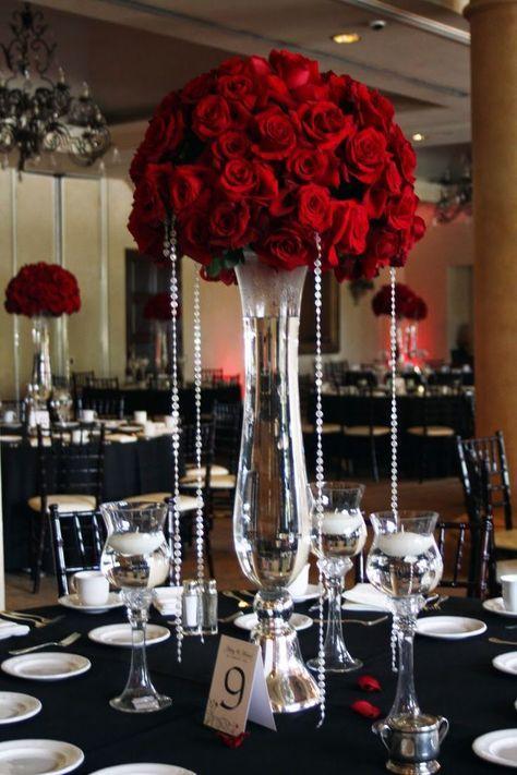 Best red rose wedding ideas on pinterest