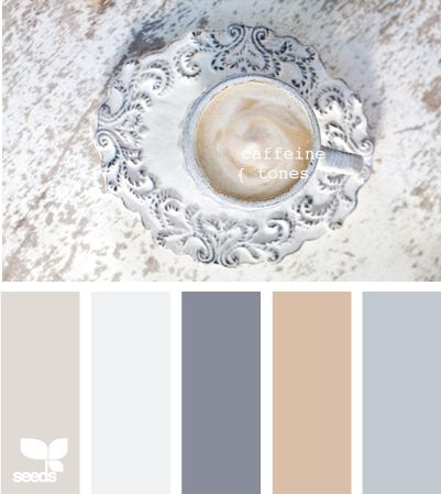 caffeine tones -- this website has hundreds of color palettes, all of which are amazing! For the bedroom!