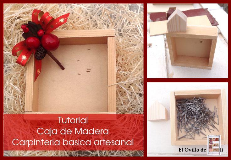 El Ovillo de Eli: DIY Caja de Ingletes, Carpintería básica