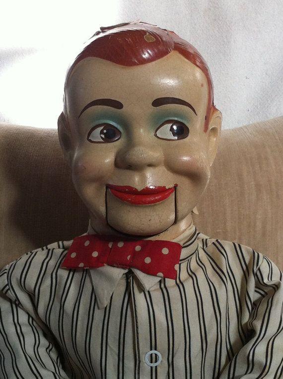 Vintage Charlie McCarthy Ventriloquist Dummy Doll by GlorieVintage