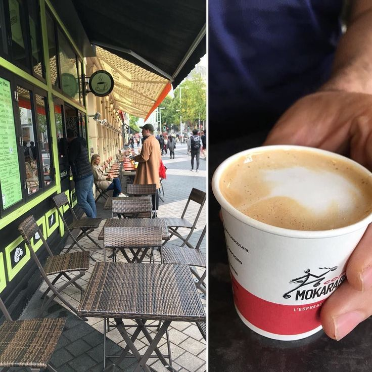 Keep warm in the morning with coffee from #QuatreSaisons on the corner of Exhibition Road.  #Coffee #Croissant #Morning #London #SouthKenTube #Underground #Motivation