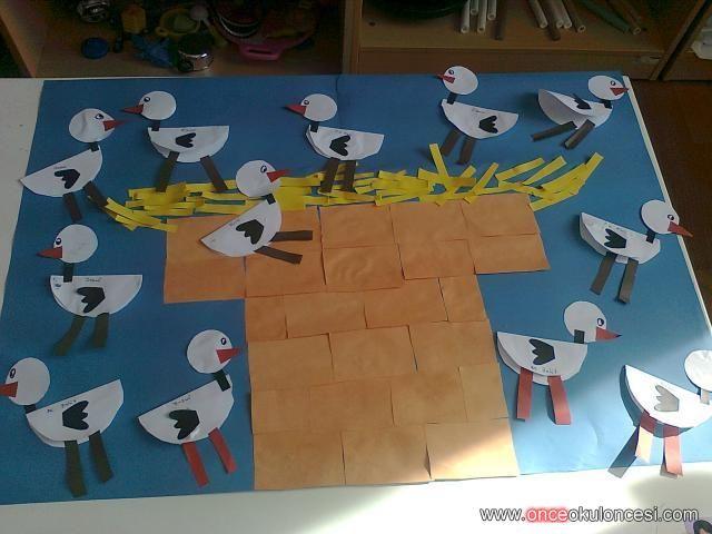 free stork craft for kids