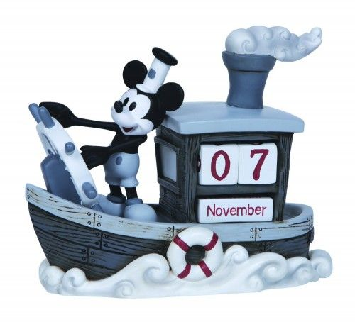 Mickey Mouse Steamboat Willie Perpetual Calendar
