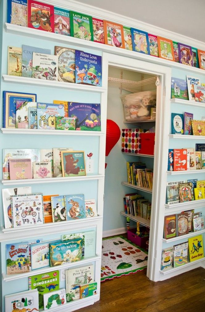 must have library for a playroom!