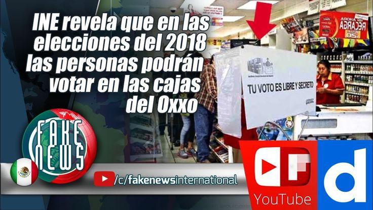 INE revela que en las elecciones del 2018 las personas podrán votar en l...