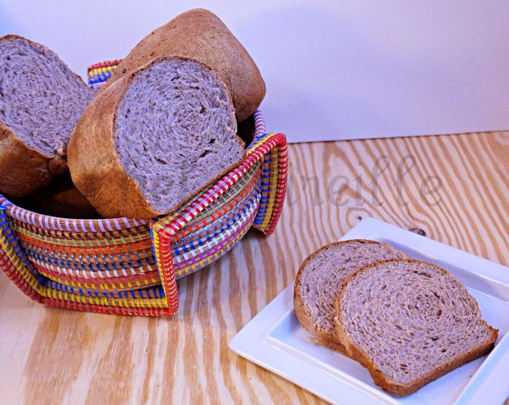 Chef Mireille's East West Realm: Walnut Wheat Bread for World Bread Day