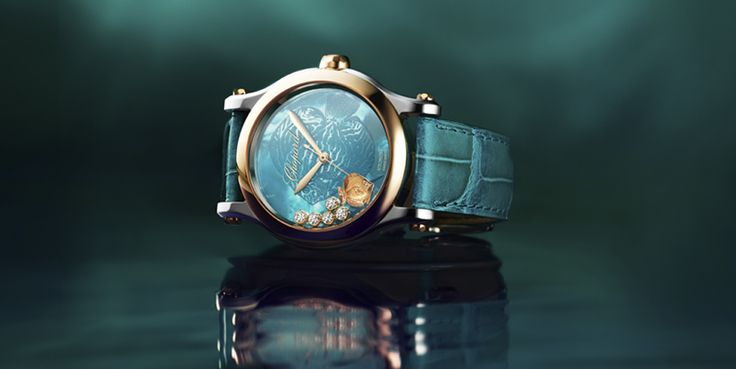 Happy Fish Torquoise de #Chopard