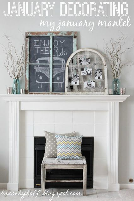 House by Hoff: Decorating in January...{The Hardest Month of the Year to Decorate}