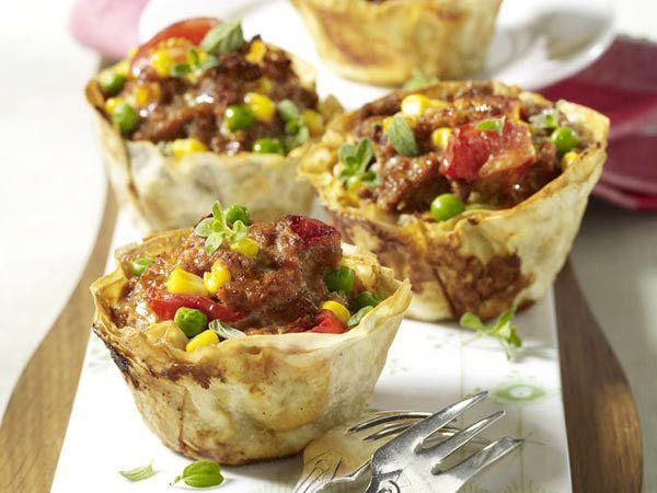 Herzhafte Muffins - würzige Küchlein mit Format - hack-muffins7 Rezept