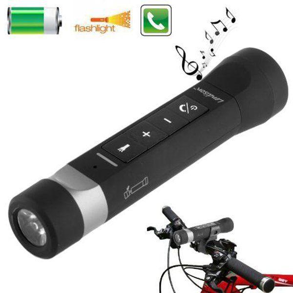 Mini Wireless Pocket Sized Bluetooth 4 2 Stereo Speakers Bluetooth Speakers Portable Outdoor Flashlight Waterproof Bluetooth Speaker