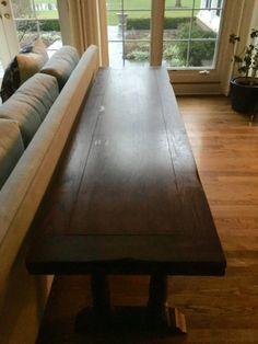Flip-Top Console Desk Dining Sofa Table Expandable