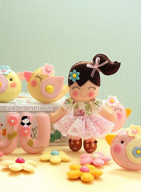 ‿✿ Mimos para uma guirlanda ✿‿   Flickr - Photo Sharing!