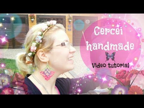 Tutorial Colier 1 din materiale reciclate ♥ DIY ♥ VIDEO TUTORIAL in Limba Romana - YouTube