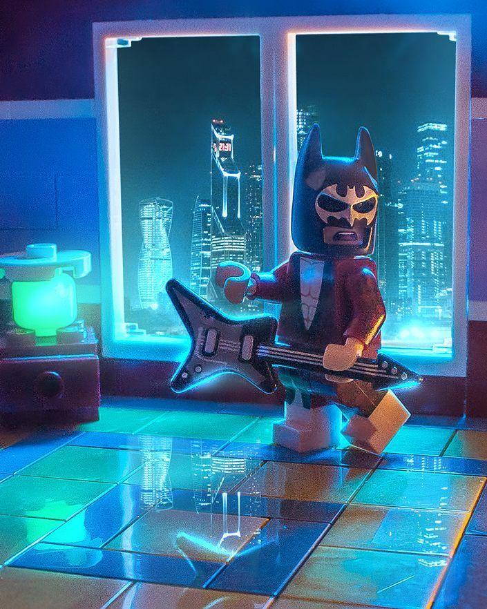 "Brick Explorer  on Instagram: ""Неспящий город, неспящий Бэтмен  Sleepless city, sleepless Batman ⚡⚡⚡ #LEGO #legobatmanmovie #moscowonline #instagramrussia…"""