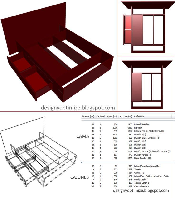 M s de 1000 ideas sobre planos de carpinter a en pinterest for Software diseno de cocinas integrales