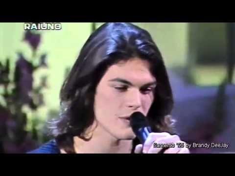 GIANLUCA GRIGNANI - Destinazione Paradiso (Sanremo 1995 - Prima Esibizio...