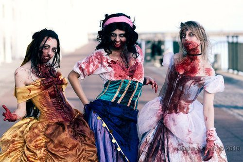 Zombie Disney Princess Cosplay