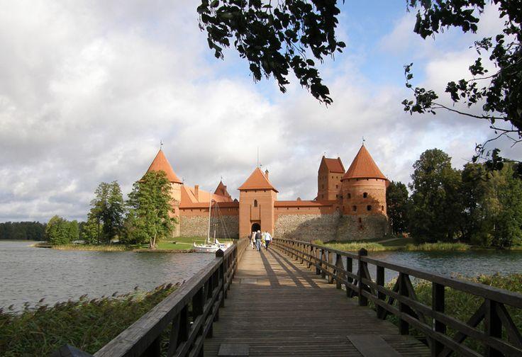 senieji trakai castle lithuania | partnership agreement was signed with the city of Rheine in Germany ...