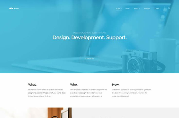 Form HTML5 Template