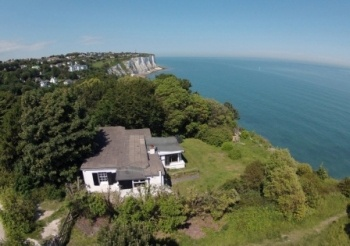 Right by the white cliffs of Dover, a simply fabulous location.