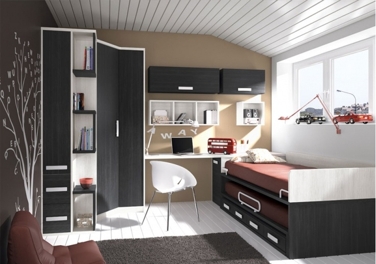 17 mejores ideas sobre dormitorios de adolescentes - Disenar habitacion juvenil ...