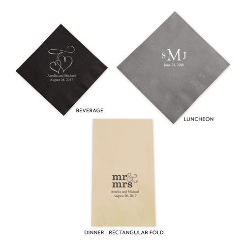 Of All the Fish in the Sea Printed Napkins - The Knot Shop