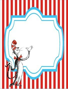 Dr Seuss Book Cover Large Image Cat In The Hat