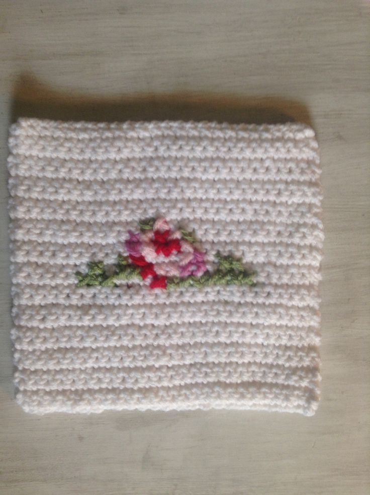 Crochet Stitch Keeper : Crochet cross stitch pot holder m y c r o c h e t Pinterest