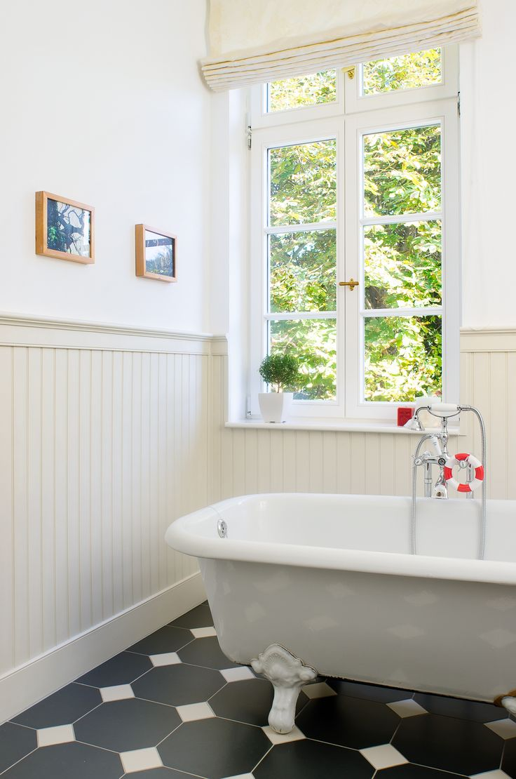 beadboard.de - stilvolle Wände - Wandverkleidung im Badezimmer
