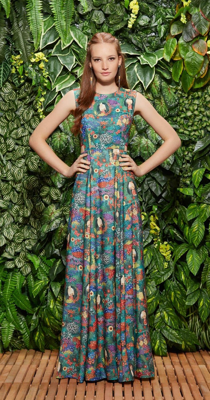 29 Best Vestidos Images By Rosana Guedes On Pinterest Dress Skirt Magnolia Sleveless Jumpsuit Wanita Coklat Cokelat M Vestido Longo Kokeshi Vesturio Antix Store