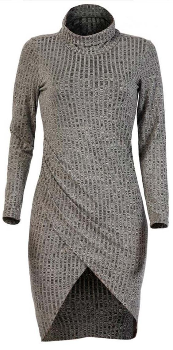 Cupshe Die In Warmth Knitting Dress