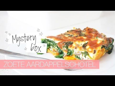 Zoete aardappelschotel met spinazie en geitenkaas – CLF TUBE | Chickslovefood.com | Bloglovin'