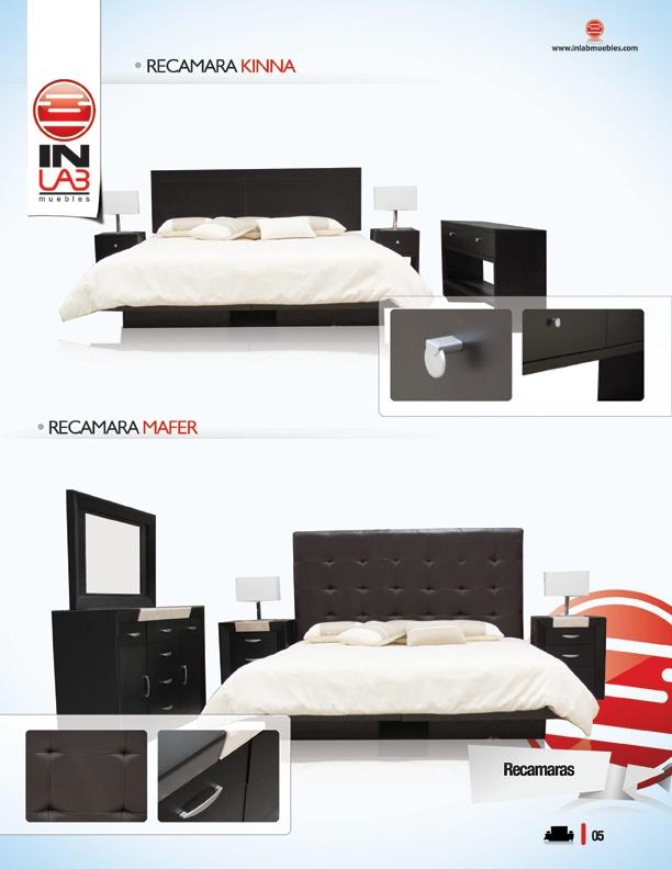 Recamaras, tocadores, bases de cama, buroes de inlab muebles