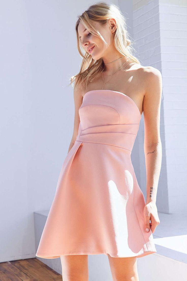 Keepsake Asymmetrical Hem Mini Dress - Urban Outfitters