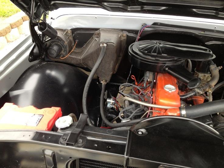 68 Chevy C10 Engine Partment 6066 Truck Parts 6772