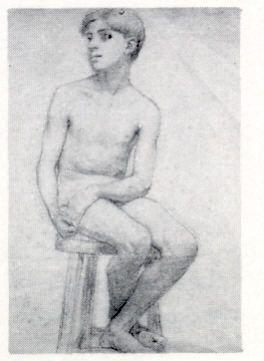 Francisco Antonio Cano Niño sentado