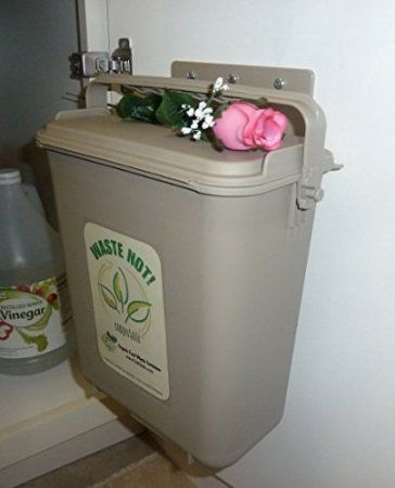 the best kitchen food scrap container no smell no fruit flies easy to clean and use a must have for any composter or